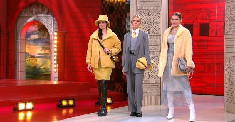 Хромченко показала несколько стильных комплектов в трендовых цветах