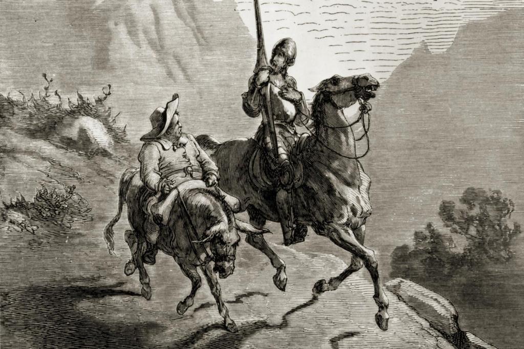 Прочитав цитаты Дон-Кихота 400-летней давности, удивилась, насколько они актуальны сегодня