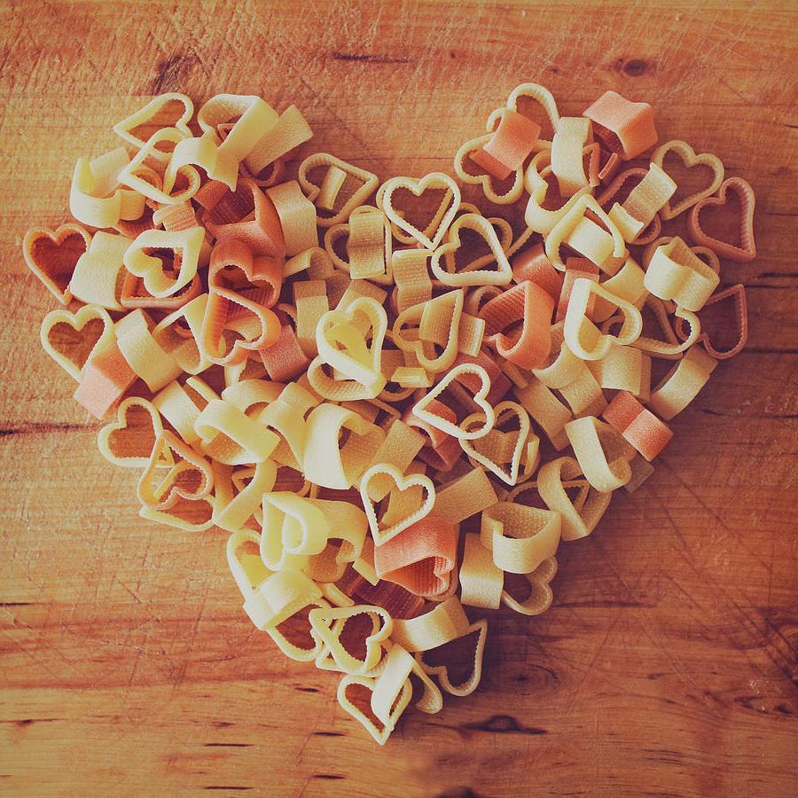 Паста на День святого Валентина в форме сердец: оригинальнее, чем просто конфеты