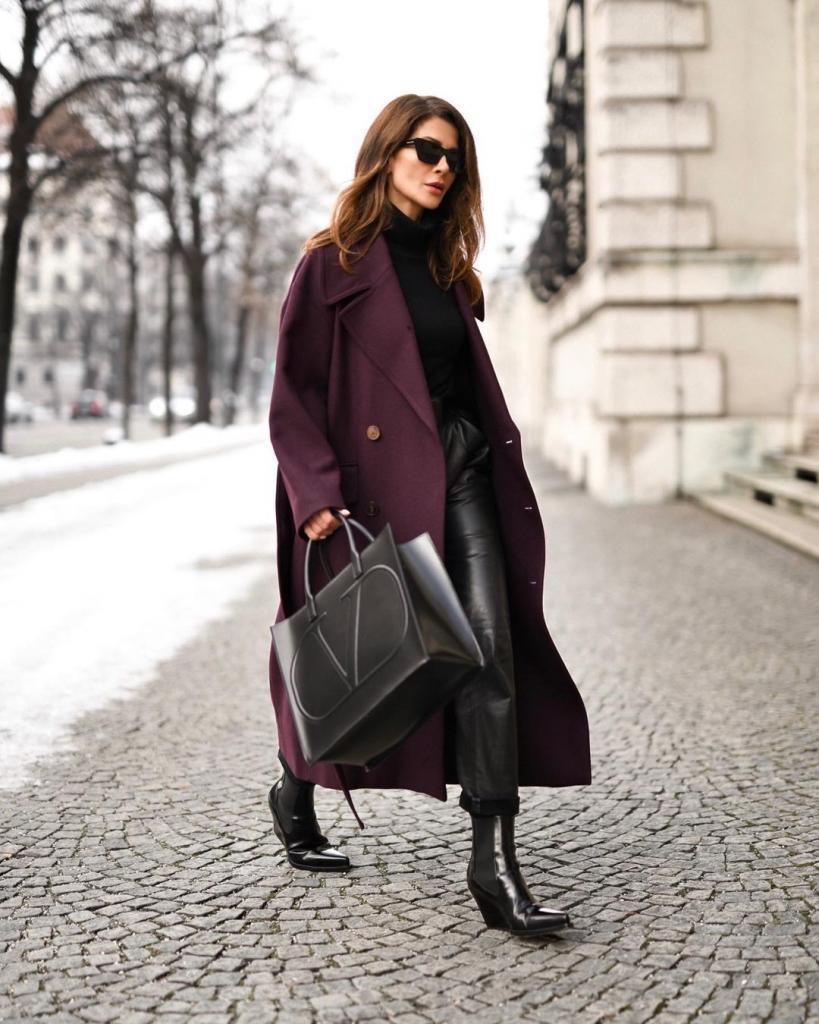 Кожа, складки и другие модные фасоны женских брюк на весну: тенденции 2021 года