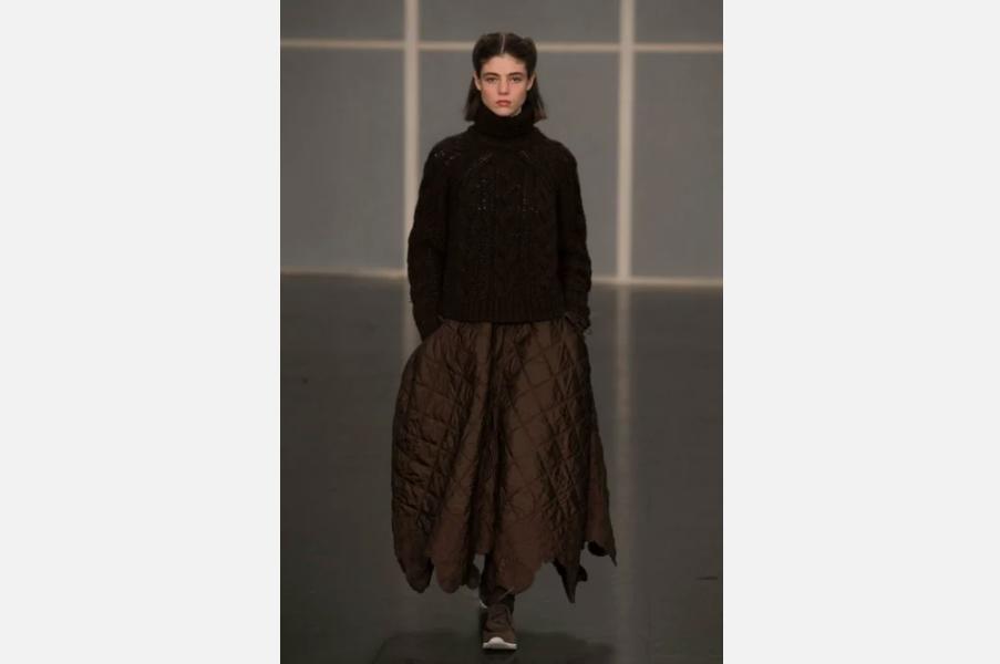 Трендовые стеганые юбки для ранней весны: с чем и как носить. Теплая альтернатива привычным вещам