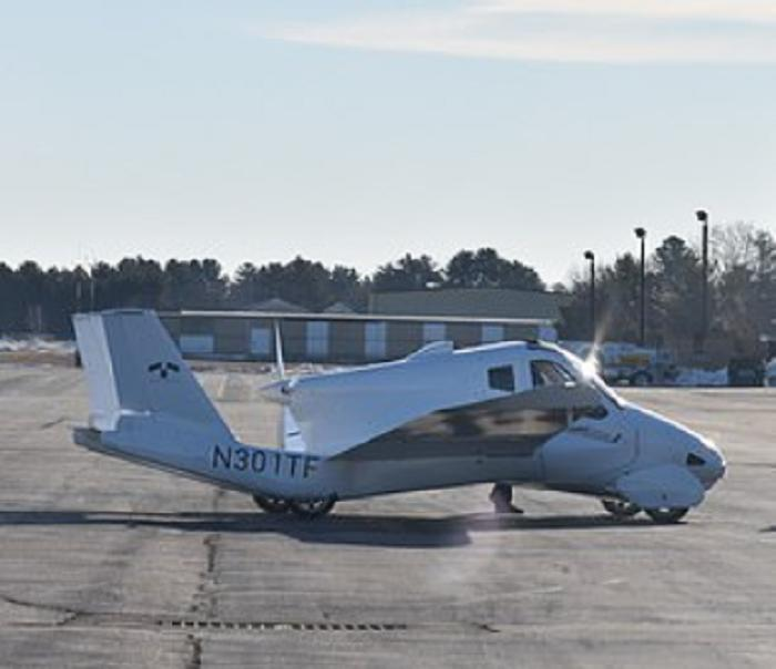 Первый в мире летающий автомобиль, который движется со скоростью 160 км/ч, дебютирует в 2022 году