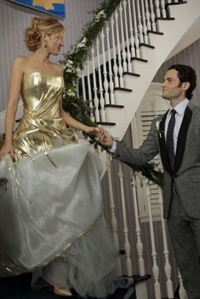 """От """"Аббатства Даунтон"""" до """"Голодных игр"""". Лучшие свадебные платья из кино и сериалов"""