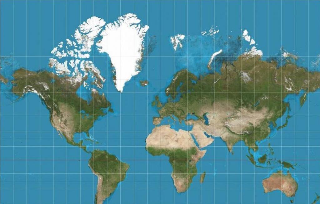 Целый новый мир: астрофизики создают самую точную плоскую карту, позволяющую пользователям увидеть весь земной шар