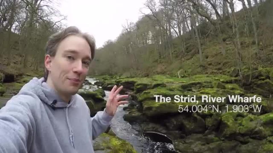 Малоизвестная речка Стрид в Йоркшире была названа самым опасным местом в мире, из-за быстрого течения и множества острых скал