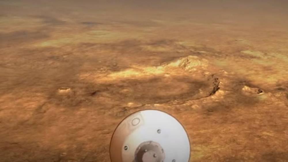 Американский марсоход высадился на Красной планете и сделал фотографии