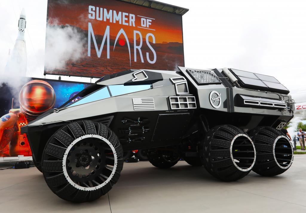 Доплеровский лидар и другие технологии марсохода, которые появятся в автомобилях в ближайшем будущем