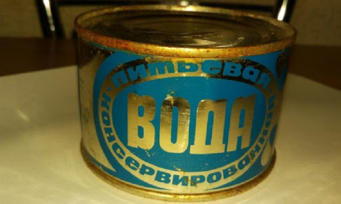 Необычные консервы: зачем в Советском Союзе консервировали простую питьевую воду