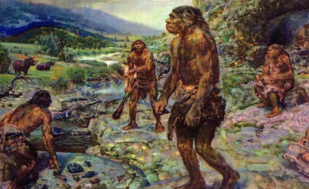 Изменение климата и вымирание неандертальцев 42 тысячи лет назад могло быть вызвано ослаблением магнитного поля Земли