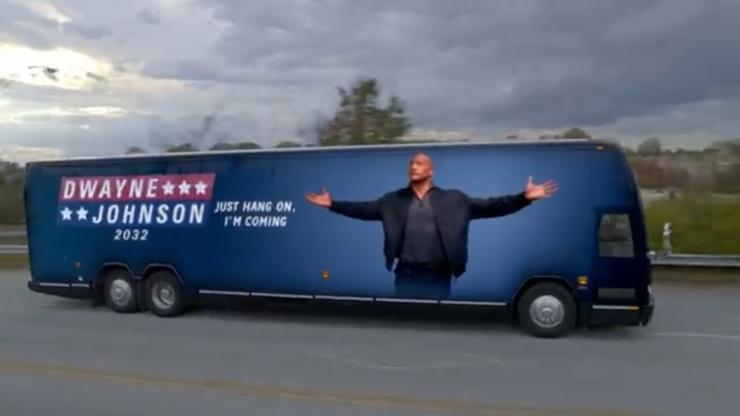 """""""Я мог бы быть лучше"""": Дуэйн """"Скала"""" Джонсон рассказал, почему он хочет баллотироваться в президенты"""