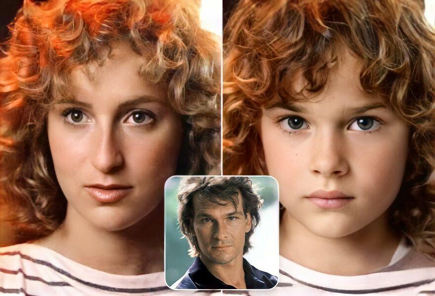 """Как бы выглядели дети 9 знаменитых киношных пар (""""Дедпул"""", """"Тор"""", """"Сумерки""""): новая версия"""