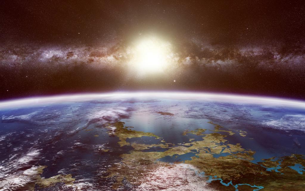 Млечный Путь может быть заполнен планетами с океанами и континентами, как на Земле