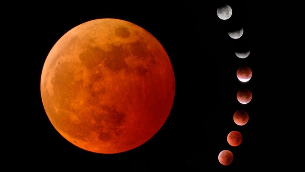 Красная Луна максимально приблизится к Земле 5 раз в 2021 году