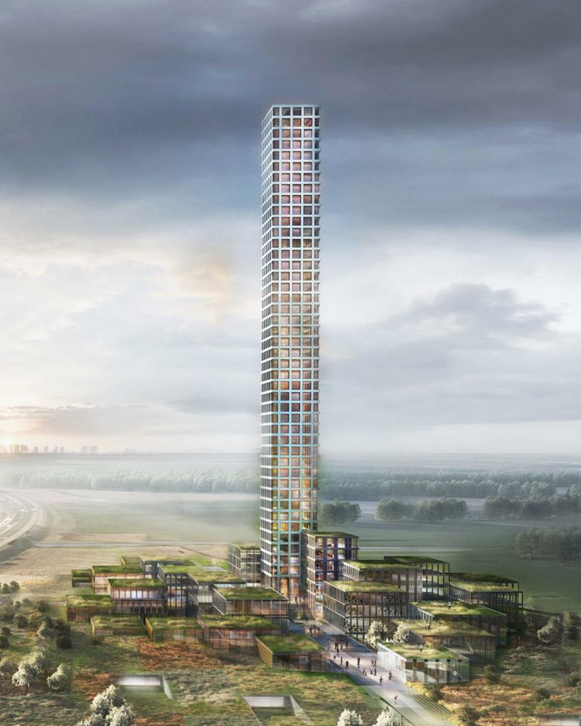 Волнистые фасады, цветные стекла и снова башни-близнецы: 9 супервысоких небоскребов, которые планируют строить в мире в ближайшие годы