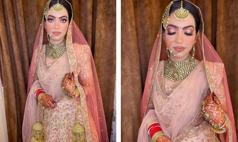 Культурное путешествие в Индию. Потрясающий свадебный макияж представляет визажист из Нью-Дели