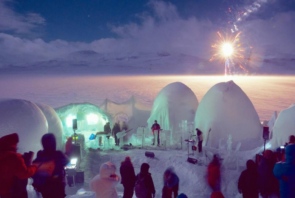 Фестиваль ледяных инструментов в Норвегии. Как звучит Байкал