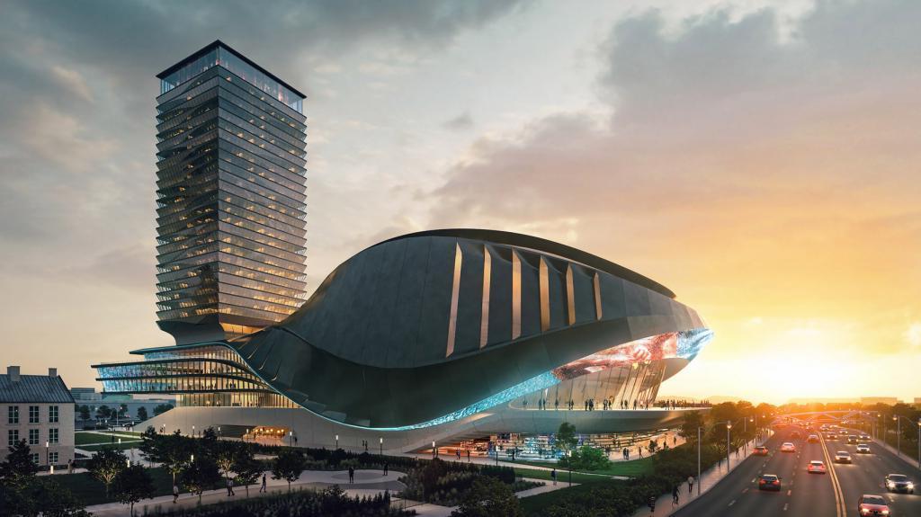 В Торонто хотят построить необычную арену на 7000 мест. Как выглядит проект