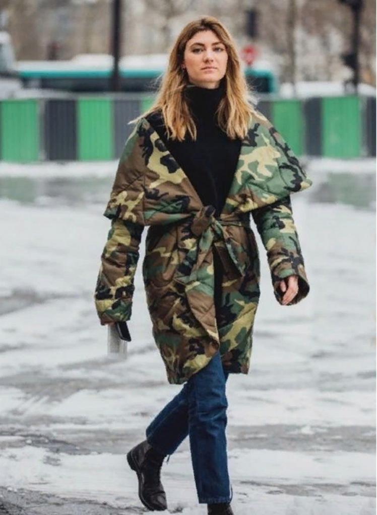 Носим милитари в гламурном стиле: 7 трендовых вариантов