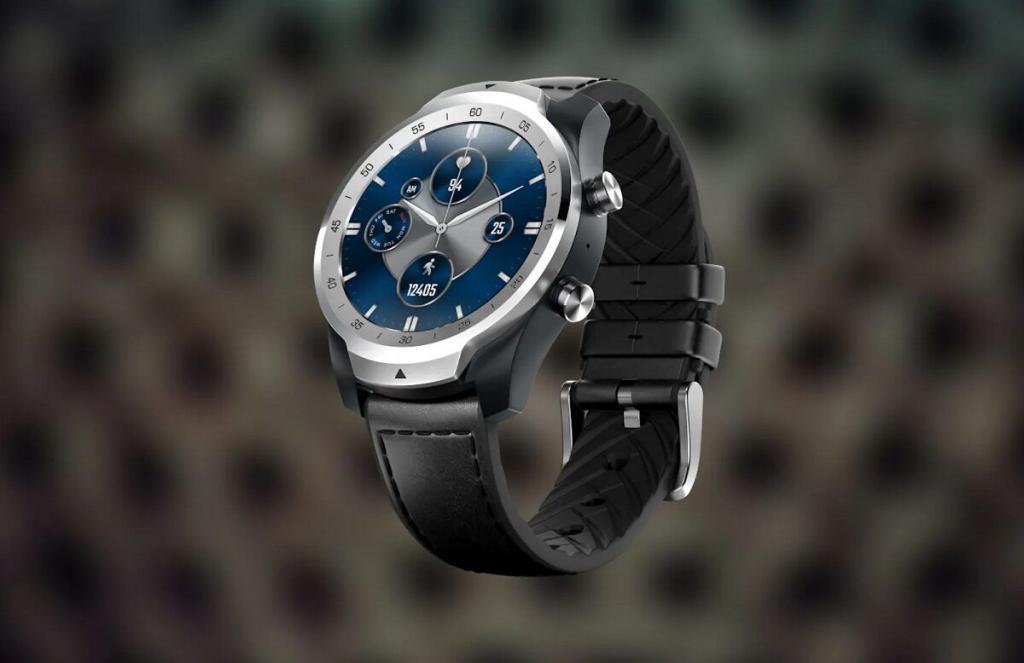 Компания Mobvoi анонсировала новые смарт-часы TicWatch Pro S