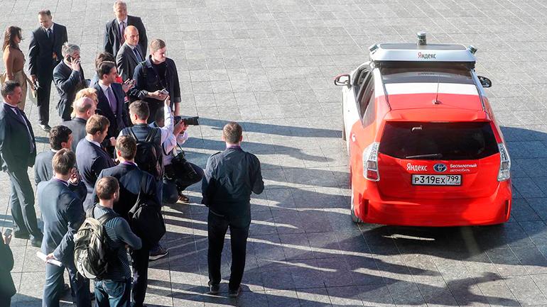 Минтранс анонсировал тестирование беспилотных автомобилей на дорогах России в 2021 году