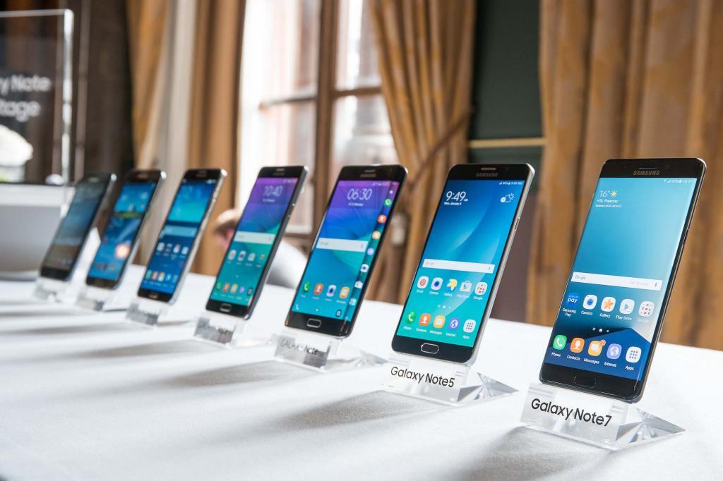Samsung подтвердил, что смартфоны серии Galaxy Note в этом году в продаже не появятся