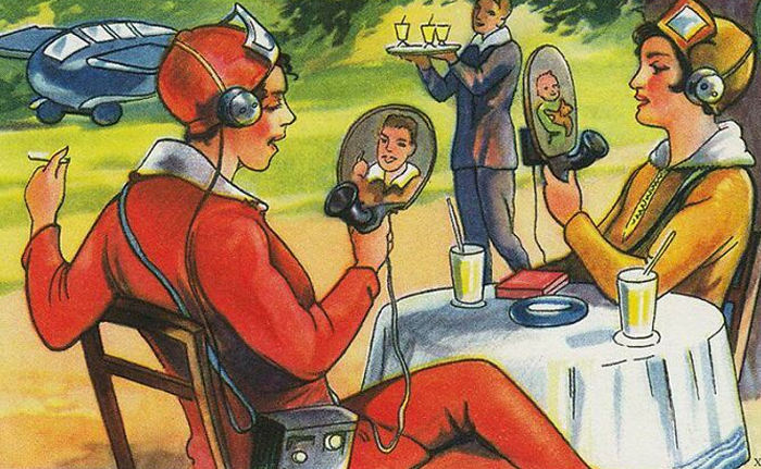 Люди раньше думали, что будущее выглядит так: 10 иллюстраций из прошлого
