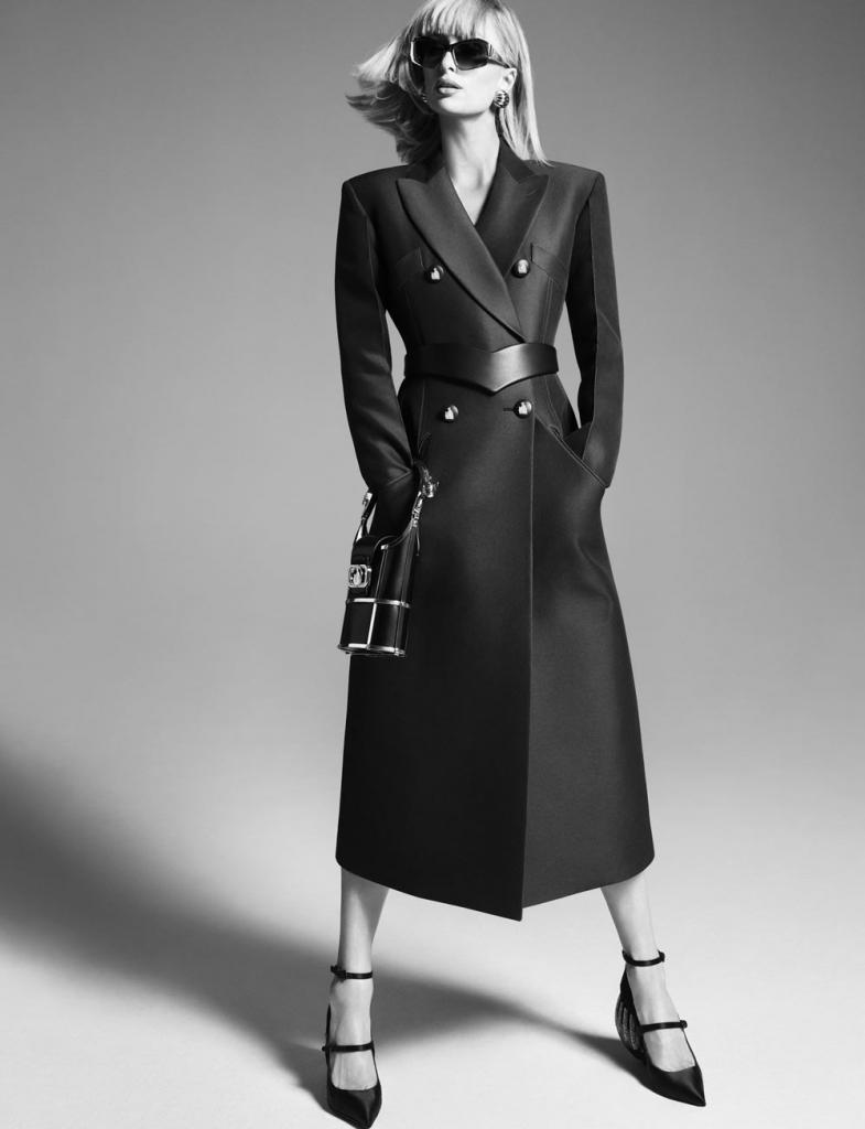 Пэрис Хилтон снялась в рекламе весенне-летней коллекции французского модного дома Lanvin: нежные образы
