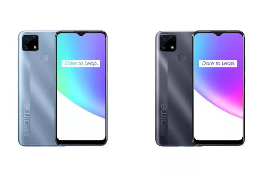 Компания Realme представила новый смартфон Realme C25 с экраном диагональю 6,5 дюйма с поддержкой HD+