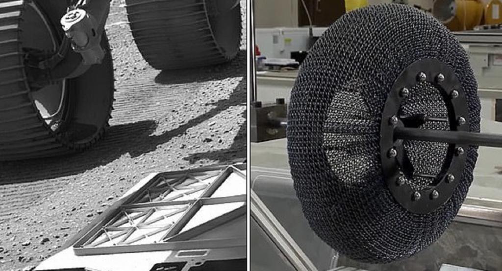 В NASA придумали велосипедные шины, которые не нужно подкачивать воздухом