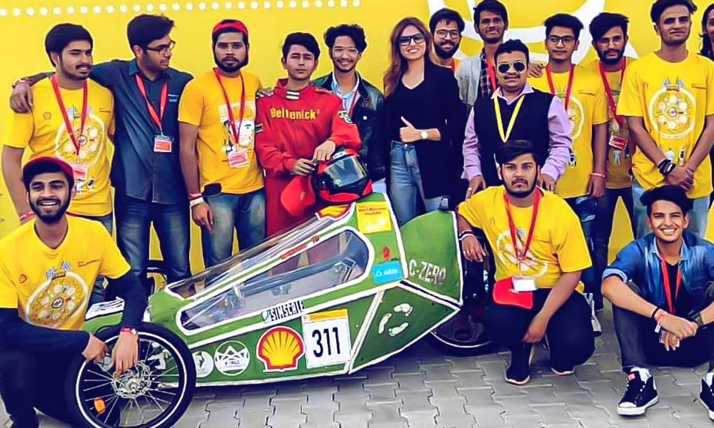 Водонепроницаемый и экономичный: студенты создали необычный электромобиль из переработанной бумаги