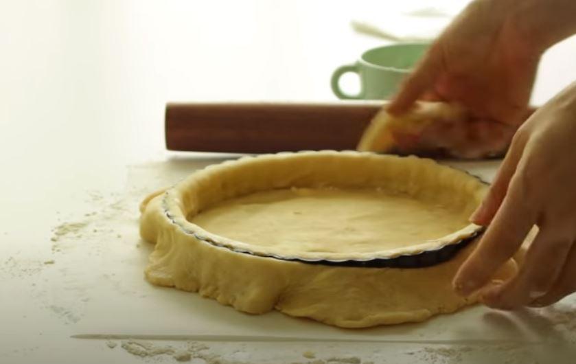 Если не знаете, что приготовить к чаю: учимся печь тарт с зелёным виноградом