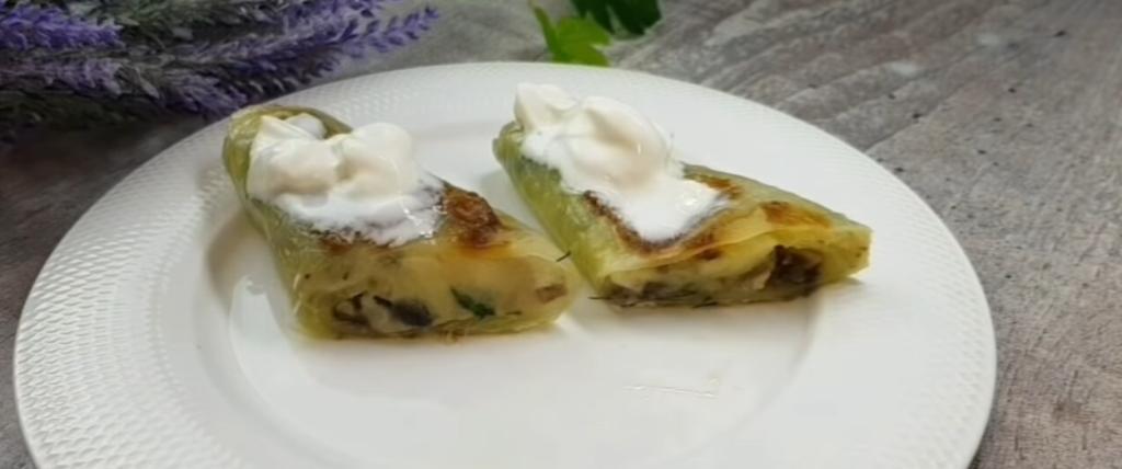 """Жарим хрустящие пирожки """"шиворот-навыворот"""": вместо теста берем лист капусты"""