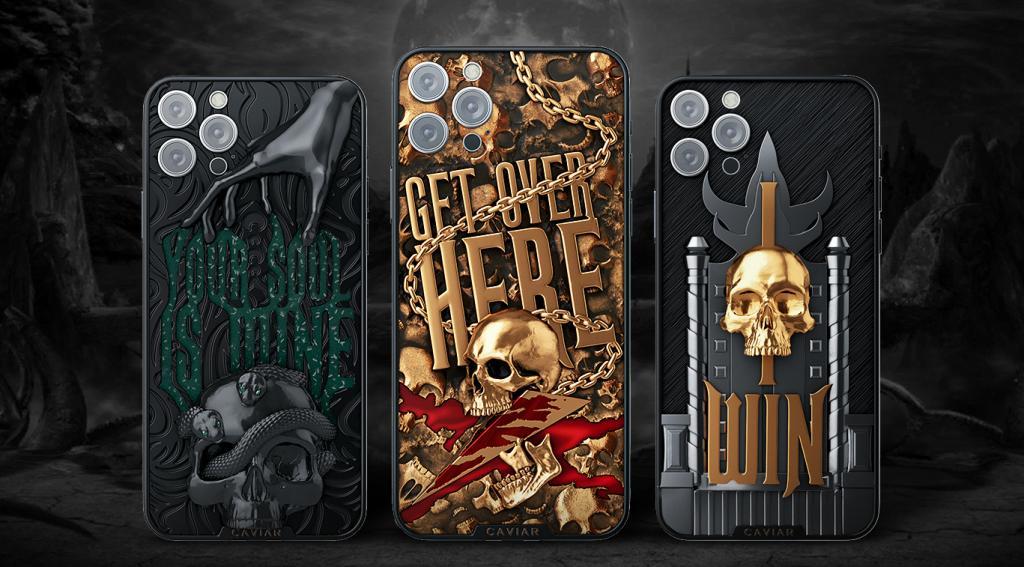 Российский бренд Caviar, создающий люксовые версии смартфонов, выпустил коллекцию iPhone 12встиле Mortal Kombat