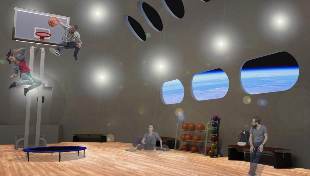 Новый космический отель планируют сдать к 2027 году: он будет вращаться чуть быстрее секундной стрелки часов
