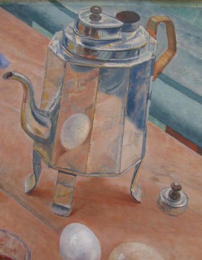 """Там есть кот и странный чайник: загадки знаменитого """"Утреннего натюрморта"""" Петрова-Водкина"""