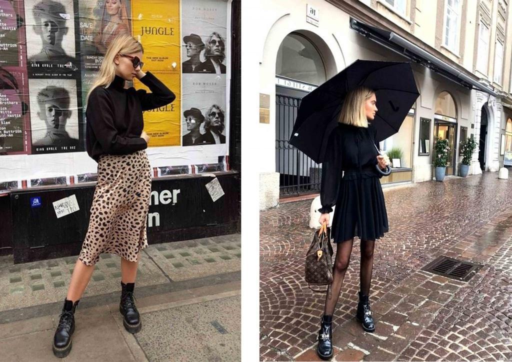 Как оставаться стильной и красивой даже в дождливый день: очаровательные образы с зонтиками, дождевиками и не только