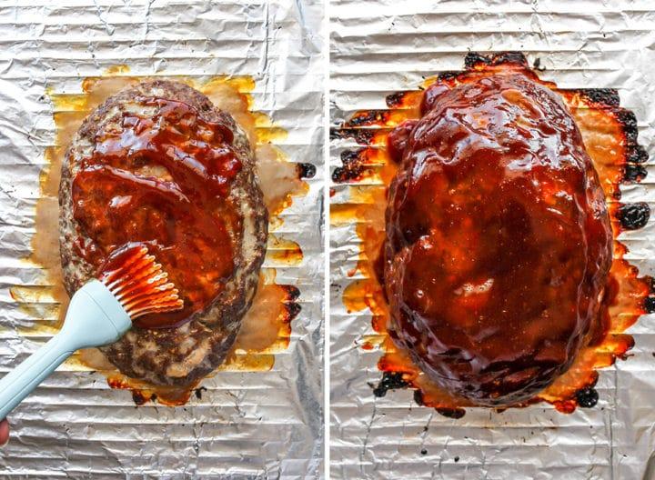 Когда котлеты надоедают, делаю сочный мясной рулет под ароматной глазурью