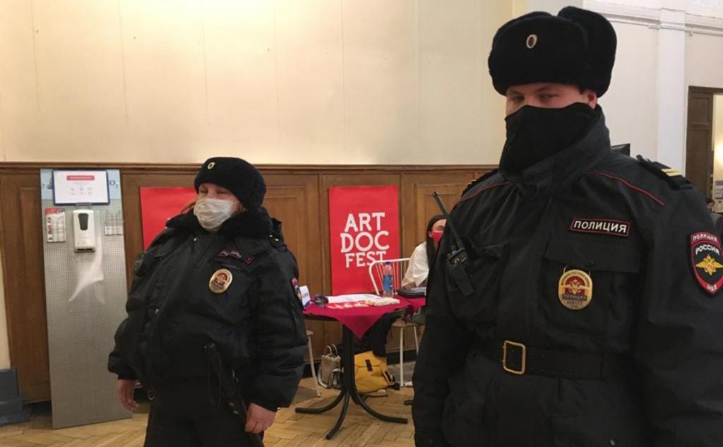 Организаторы «Артдокфеста» сообщили о закрытии кинофестиваля властями Петербурга