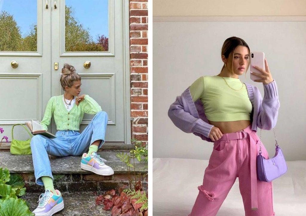 Весна и лето требуют яркости, а душа - романтики: как стильно сочетать трендовые красочные наряды (советы и примеры)