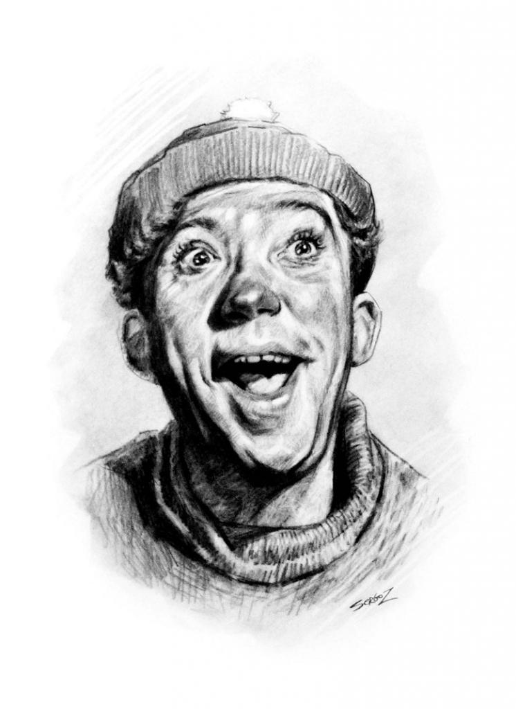 Увлекательная викторина для любителей советского кино: угадываем актера по шаржу Сергея Загаровского