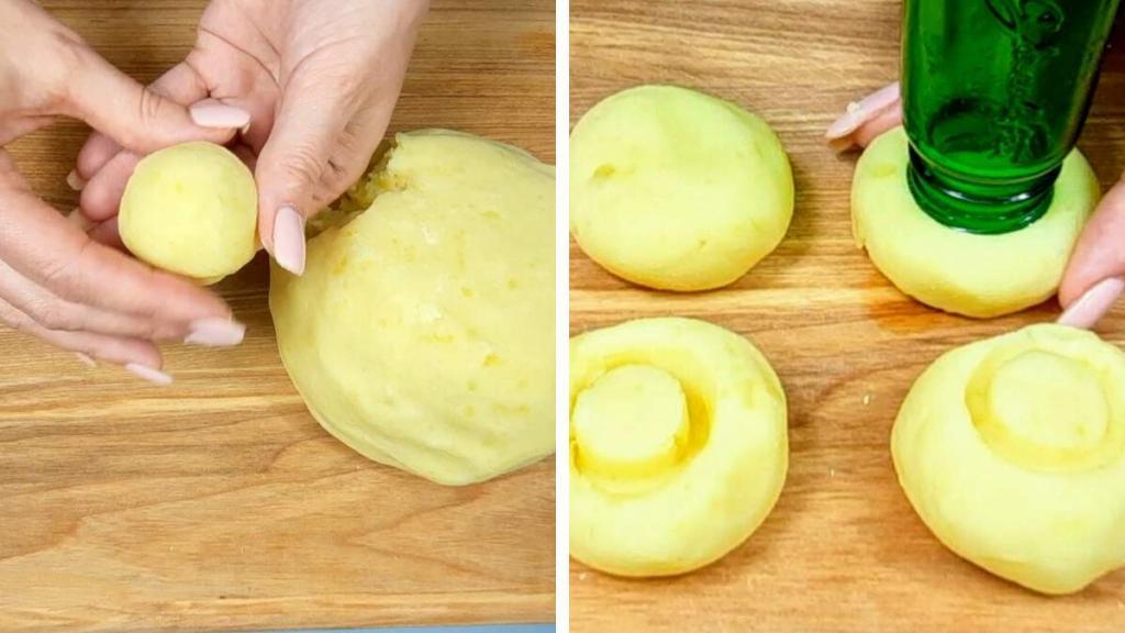 """Если обычная картошка надоела - картофельные """"грибы"""": простой и быстрый рецепт"""