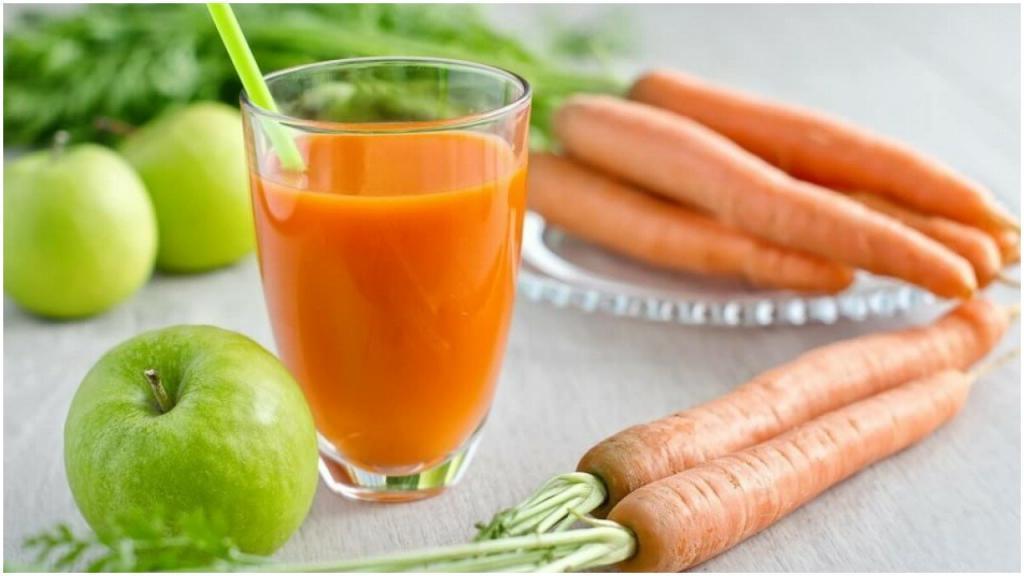 Храп очень раздражает: смузи из моркови, яблока и еще двух ингредиентов поможет избавиться от проблемы