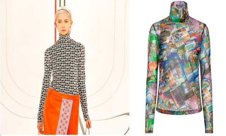 Меняйте свитера на модные водолазки: модные тенденции весны-2021