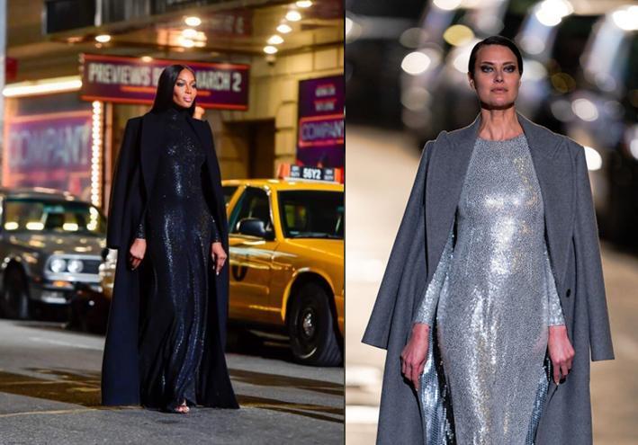 На показе Michael Kors: Ирина Шейк, Белла Хадид и Наоми Кэмпбелл прошли по Бродвею как по подиуму