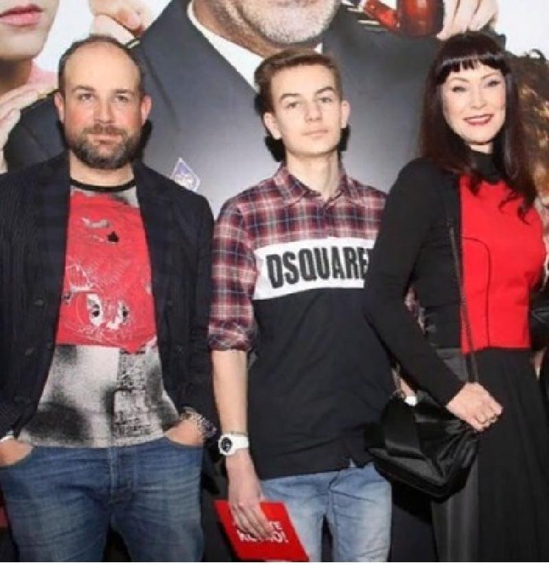 Нонна Гришаева поведала, что у сына прошел первый съемочный день на ТВ
