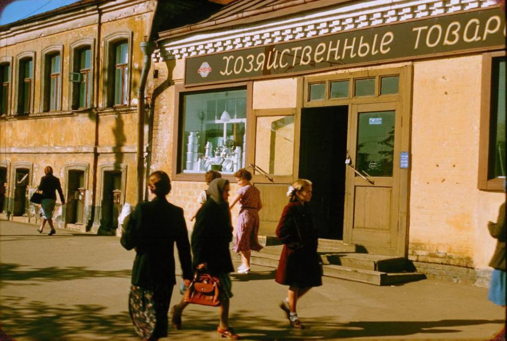 """""""Такой свободы не было даже во времена Горбачева"""": Москва 1956 года на снимках французского фотографа"""