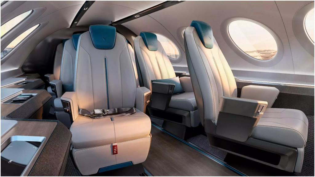 Летать мы будем, как геймеры: дизайнеры интерьера самолетов представили будущее гражданских перелетов (фото)