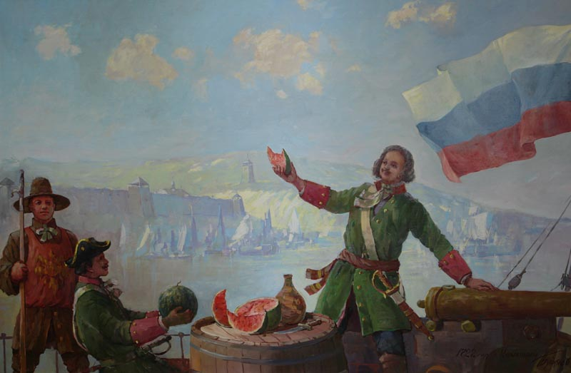 """Ел, как настоящий мужик. Чем питался сам Петр I и что такого """"диковинного"""" он заставлял есть простых крестьян"""