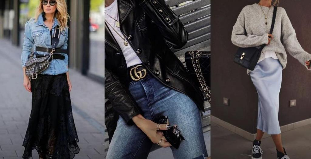 Трендовый микс поможет составить образ без затрат на новый гардероб: как сочетать модные стили этой весны женщинам за 30
