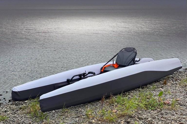 Лодка с собой. Лондонский путешественник создал каяк, который легко упаковывается в дорожную сумку
